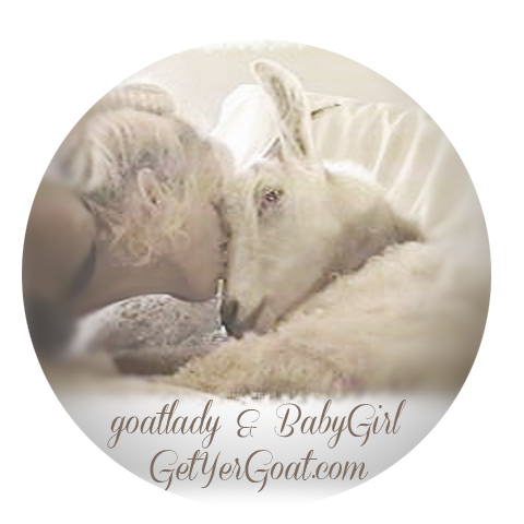 goatlady and BabyGirl